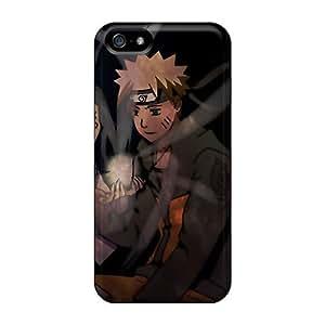 For Iphone 5/5s Protector Case Naruto Shippuden Hyuuga Hinata Naruto Uzumaki Rasengan Phone Cover