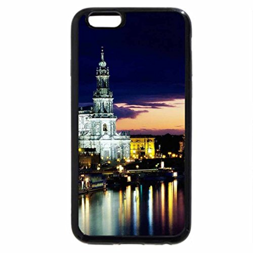 iPhone 6S / iPhone 6 Case (Black) Lighted River.
