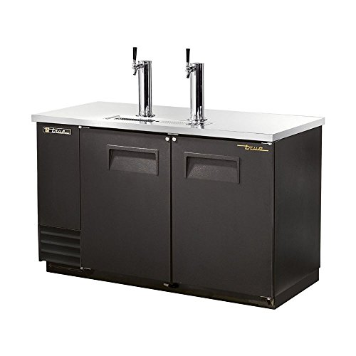 True Black 2-Tap Direct Draw Beer Dispenser f/ 2 ()