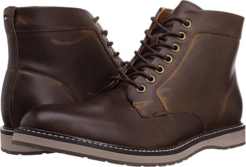 Tommy Hilfiger Men's Lari Chukka Boot, Brown, 12 Medium US