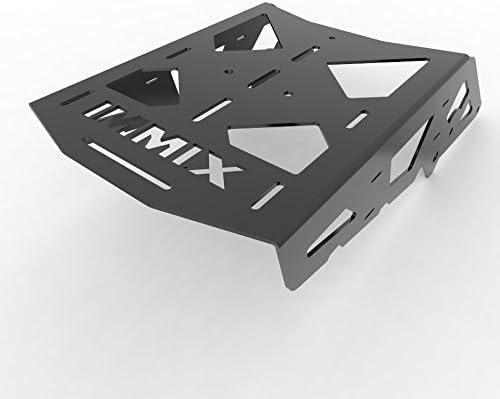 Immix Racing 90-01 Suzuki DR350 100-010-Black Cargo Rack Luggage Carrier Utility Rear Tail Holder Black Powdercoat fits