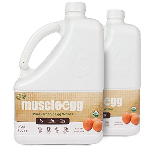 MuscleEgg Organic Liquid Egg Whites Protein - 2 Gallons