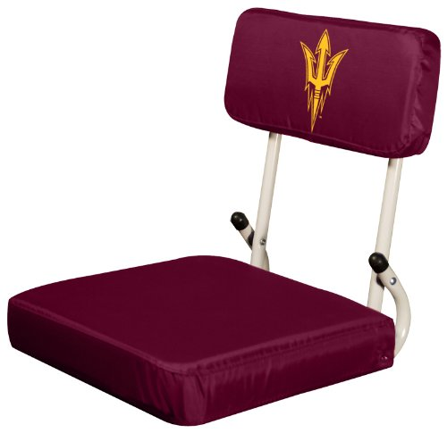 Logo Brands NCAA Arizona State Sun Devils Hard Back Stadium Seat