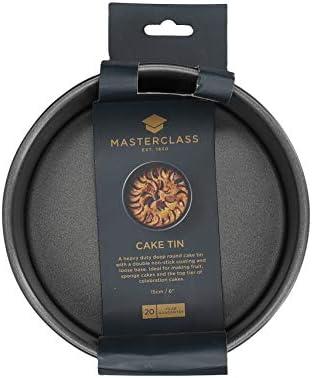 15cm Master Class Nonstick Loose Base Deep Round Cake Pan