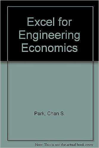 Book Excel for Engineering Economics