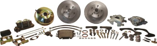 SSBC A129-4 Front Drum to Disc Brake Conversion Kit
