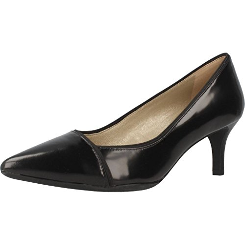 Zapatos de tac�n, color Negro , marca GEOX, modelo Zapatos De Tac�n GEOX D ELINA Negro Negro