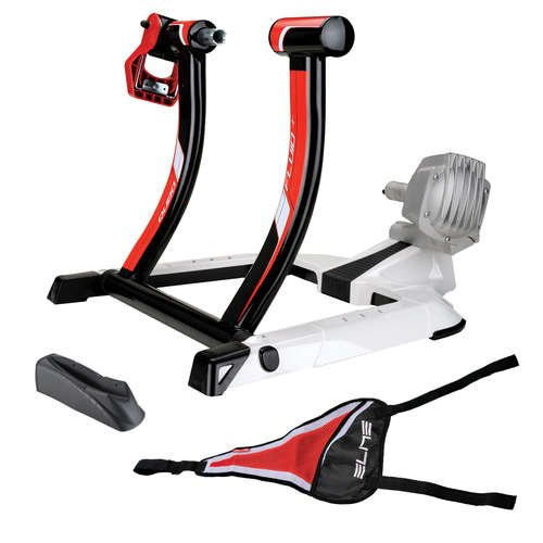 Elite Qubo Fluid Trainer with Riser Block and Sweat (Elite Block)