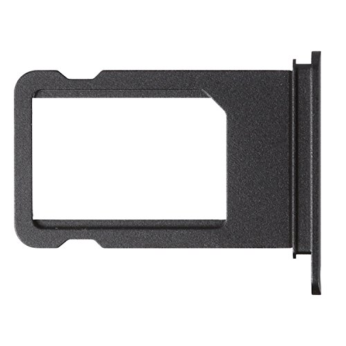 BisLinks Black SIM Card Tray Holder Replacement Part For Apple iPhone 7 Plus by BisLinks® (Image #1)