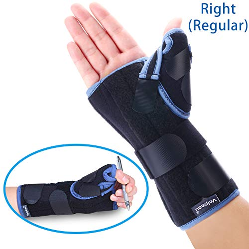 Velpeau Wrist Brace with Thumb Spica Splint Support for De Quervain
