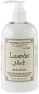 product image for Stonewall Kitchen Lavender Mint Fine Home Keeping Hand Lotion, 16.9 Ounces