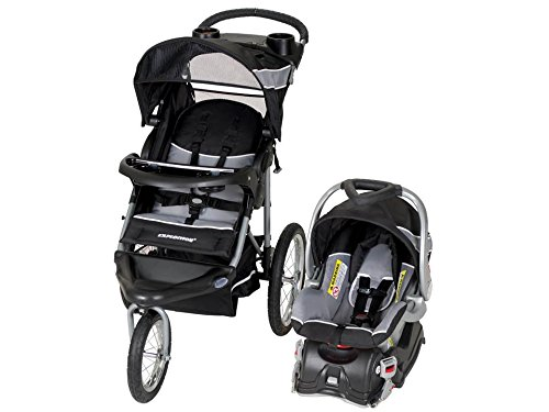3 Wheel Baby Stroller With Car Seat - 2