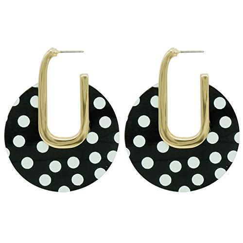 Coco Polka Dot Drop Earrings