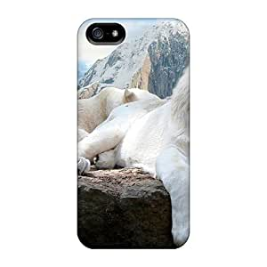 Cases Covers White Lions/ Fashionable Cases For Iphone 5/5s