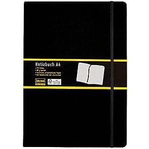 Idena - Cuaderno de notas A4 color negro