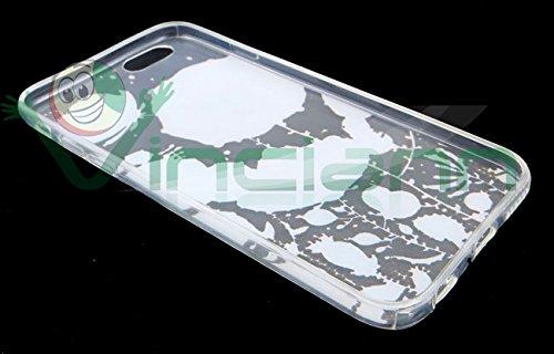 Film + Coque TPU Coque fine jardin pour Iphone 66s Case Transparent