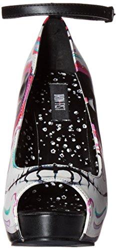 Pugno Di Ferro Womens Home Wrecker Platform Dress Pump Black