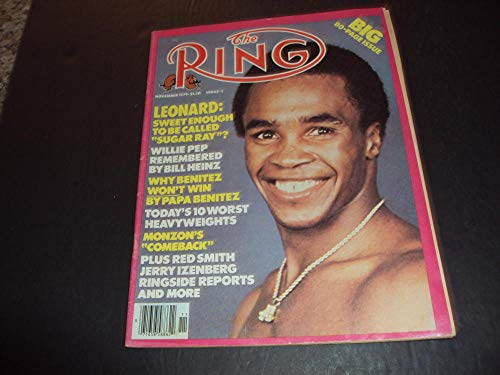 The Ring Nov 1979 Sugar Ray, 10 Worst Heavyweights (1979 Sugar)