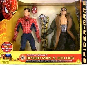 Spider-man & Doc Ock Super Posable Toybiz