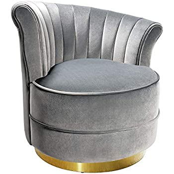 Swivel accent chairs uphostered club chair - Amazon bedroom chairs and stools ...