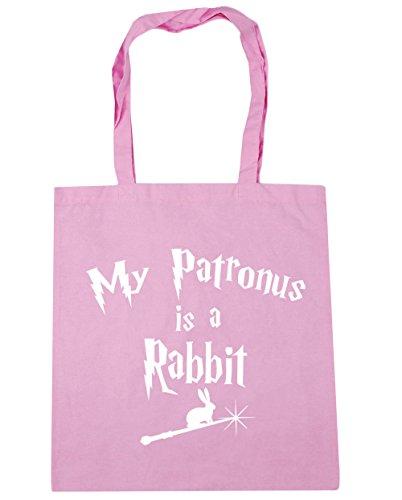 Shopping Is Gym Rabbit 10 42cm x38cm Beach Tote Patronus My litres Classic A HippoWarehouse Pink Bag wxqYEFpR1q