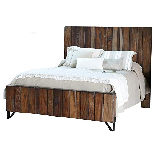 Crafters and Weavers Granville Parota Bed Frame King Size (Granville Bed)
