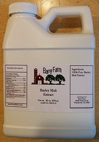 - Barley Malt Syrup, 22 fl. oz.