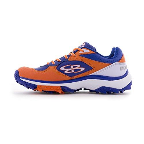 Bourah Womens Endura Turf Shoes - 11 Opzioni Di Colore - Più Dimensioni Royal / Orange