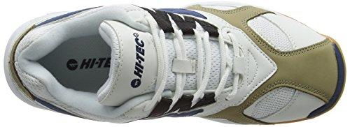 Hi-Tec Ad Pro - Zapatillas de deporte Hombre Blanco (White/Navy 011)