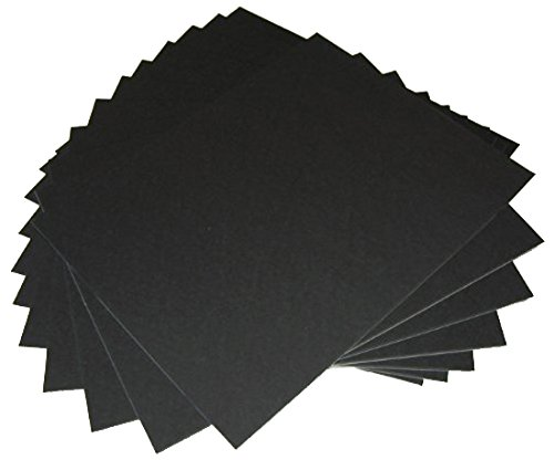 50 16x20 UNCUT mat matboard Black Color