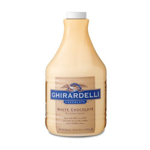 Ghirardelli White Chocolate Syrup (1-64-Ounce Bottle of Syrup) by ()