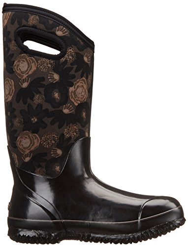 Boot Bogs Winter Black Tall Classic Multi Watercolor Snow Women's nBY1qrCwB