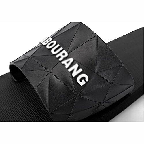 XIAOLIN Zapatilla Zapatillas de casa de interior masculino verano antideslizante sandalias de playa y pantuflas personalidad marea drag masculina (tamaño opcional) ( Color : 03 , Tamaño : EU42/UK8.5/C 02