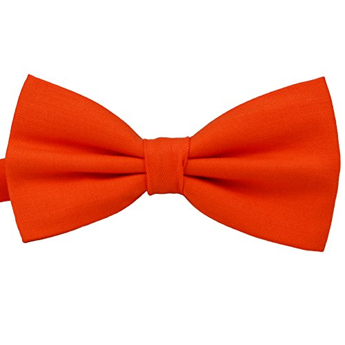 SISIDI 100% Cotton Pre-Tied Bow Tie ,Adjustable Double Layer Bow Tie - Various Colors