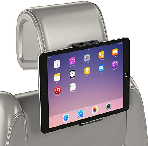 🥇 GERETIN Soporte Tablet para Coche Soporte para Tablet Soporte para Reposacabezas de Coche Pulgadas 360ºpara Asiento Trasero Soporte para Tablet
