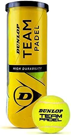 Dunlop Pelotas Padel Team Padel Caja 24 Botes: Amazon.es: Deportes ...