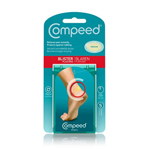 Compeed Blister Relief Pack Plasters - Medium - White