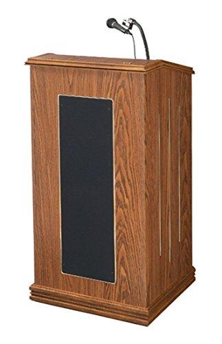 Oklahoma Sound 711-MO Prestige Floor Sound Lectern, 22