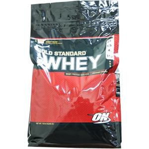 Amazon.com: 100% Whey estándar de oro, Rocky Road, 10 lbs ...