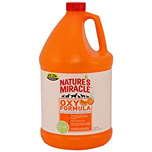 8. Nature's Miracle – Stain & Odor Remover, Orange-Oxy, Trigger Spray