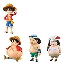 Piece World Collectable figures -STYLE UP- popular set of 4