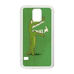 Custom SamSung Galaxy S5 I9600 Case, Zyoux DIY Unique SamSung Galaxy S5 I9600 Phone Case - Funny animals