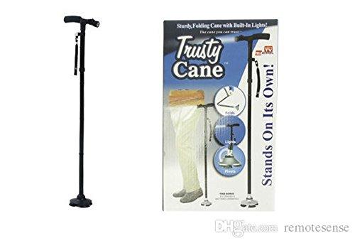 35 opinioni per Ducomi® Bastone da passeggio Trusty Cane con luce a LED altezza regolabile