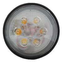 "LED Conversion Headlight Bulb - 18W 4-1/2"" Round Hi/Lo Beam John Deere 4050 4630 4240 4450 4230 6620 4250 3020 2040 7700 4000 7720 2030 4020 4430 4040 4440 4320 Ford International 706 766 1066 966"