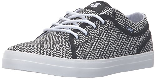 US 5 W Wos M White Shoe Women's 8 Black Skateboarding DVS Aversa Aztec qwCH7ng