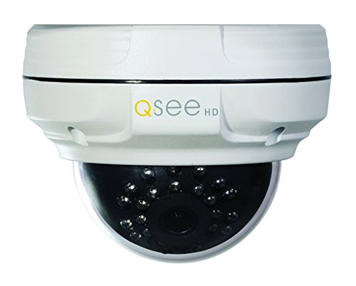 Q-See (Certified Refurbished) QTN8018D-R 2MP/1080p High Definition IP Dome Camera with 65-Feet Night Vision (White)