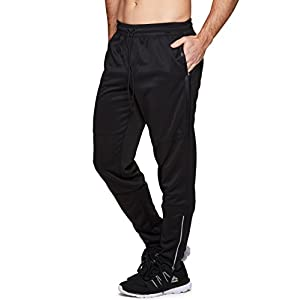 RBX Active Men's Athletic Performance Tapered Jogger Sweatpant with Pockets