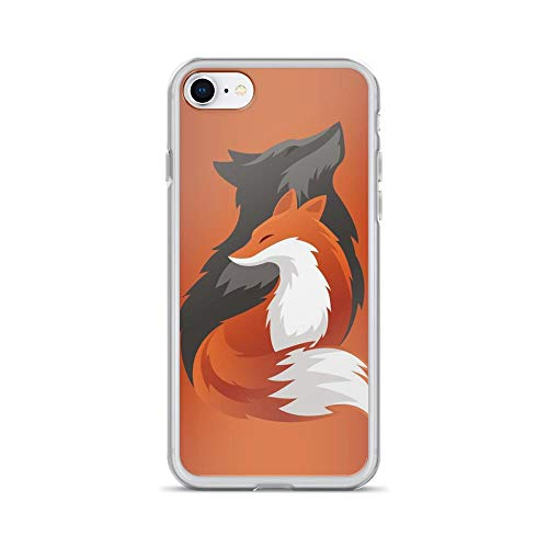 iPhone 7/8 Pure Clear Case Cases Cover The Spirit of a Dead Fox Digital Painting]()