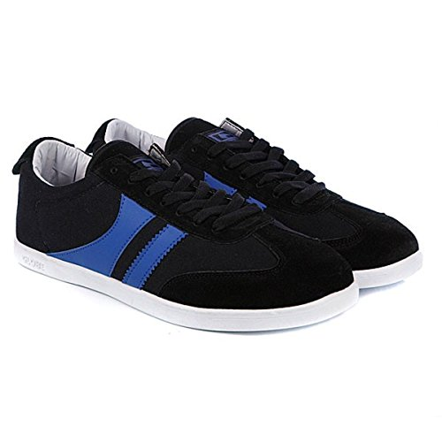 Globe Skateboard Schuhe Spire Black/Oxide Blue