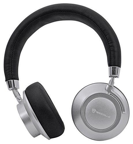 Rockville BTH7 Sleek Bluetooth Headphones/Perfect Sound/Swivel/Leather Padding